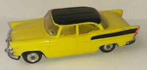 Voiture Miniature 1/43 Simca Beaulieu Jaune Norev Vintage no Majorette B-15