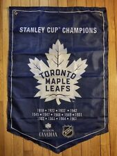 Molson Canadian Coors Light Stanley Cup Winner Banner Flags Toronto Maple Leafs