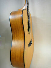 Martin Klema K100DC Natural Matt Solid Cedar Top Acoustic Guitar W/ Gig Bag