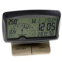 Multifunction Digital Auto Car Navigation Compass +Clock/Temperature Thermometer