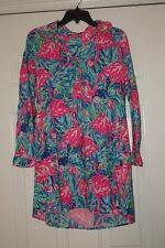 Lilly Pulitzer  Lillith Tunic Dress in Multi Flamenco Beach XS  ~ Barely Worn