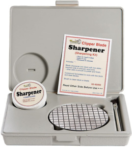 Clipper Blade Sharpener Kit Simple Instructions Included
