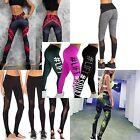 Women's Sexy Running Workout Active Leggings Camo Lift Black Sizes 8-14 ❤Aus❤