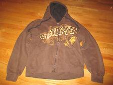 Odm Label Jimi Hendrix Zippered (Large) Hooded Sweatshirt