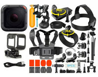 GoPro HERO Session + Complete Accessory Kit Bundle 40+ Piece Set
