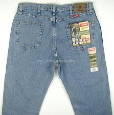 Wrangler Jeans Mens REGULAR FIT - LIGHT STONEWASH Size 36 x 32 New Straight Leg