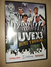 DVD N°4 JUVEX3 FC JUVENTUS CAMPIONE D'ITALIA 2013/2014 JUVE TRICOLORE JUVE X 3