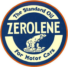 ZEROLENE MOTOR OIL VINYL STICKER (A983) 4 INCH