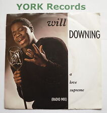 """WILL DOWNING - A Love Supreme - Excellent Con 7"""" Single 4th & Broadway BRW 90"""