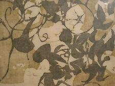 MORNING GLORY ARTIST PROOF /20 LE Woodcut Print Modern Japanese Am Sueo Serisawa