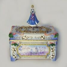 Cinderella Christmas Cloisonne Style  Music Box