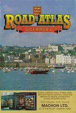1993 Road Map Guernsey Channel Islands England St. Peter Port Castel Vale Kodak