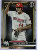 Aristides Aquino 2020 Topps Tribute Rookies 5x7 Gold #20R-AA RC /10 Reds