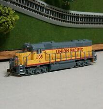 Bachmann N Scale Union Pacific Emd Gp40 Diesel Loco #508. Analog Dc. New!