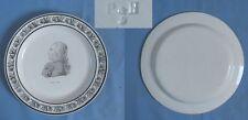 Assiette en Faïence Fine de CHOISY: LOUIS XVIII / PériodeP & H début XIXè