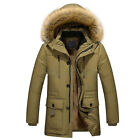 Men's Winter Warm Thicken Hooded Coat Parka Jackets Pullover Casual Outwear#