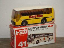 Isuzu Super Hi-Deckerbus - Tomica 41 Japan 1:145 in Box *35694