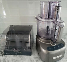 Cuisinart Elemental 11-Cup Food Processor 550 Watt CFP-22GMPC - VGC
