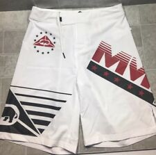 $38 Ecko MMA Grip Fight Shorts White Size Small New With Tags