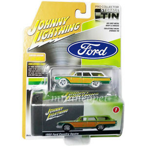 JOHNNY WHITE LIGHTNING JLSP146 A 1960 FORD COUNTRY SQUIRE RAT FINK 1/64 Chase