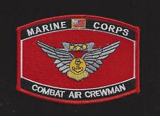 Combat Aircrew Wing Marine Hat Patch Us Marines Veteran Gift Aircrewman Mcas