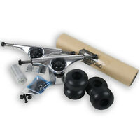 SKATEBOARD TRUCKS, WHEELS, BEARINGS, GRIP, PACKAGE ZBBZ