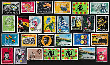 25 ALL DIFFERENT GHANA STAMPS (J)