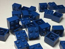 Lego 2X2 Dark Blue - New Bulk Lot Of 25 2x2 Brick Blocks Authentic 3003
