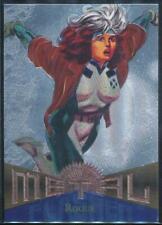 Marvel Fleer Card Metal 1995 N°114 Rogue