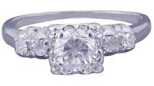 White Gold SI2 14k 0.75 - 0.99 Diamond Engagement Rings