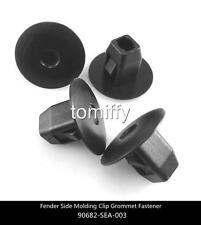 100pcs Fender Side Molding Clips Grommet Fastener For Honda CR-Z CR-V Civic