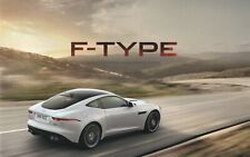 Jaguar F-Type Coupe/Convertible UK Price & Spec Guide Brochure 2013-2014 44 Page