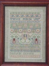 """Silk Sampler"" DARLENE O'STEEN The Needle's Prayse Booklet ©1991 OOP/NLA"