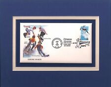 EXTREME SPORTS - SKATEBOARDING - FRAMEABLE POSTAGE STAMP ART - 0242