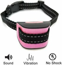 Barking Collar For Small Dogs, PINK Anti Bark, Perfect For Training - No Shock