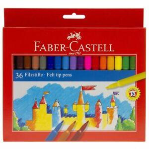 Faber Castell Felt Tip Pens Set of 36