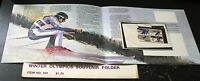 Winter Olympics Souvenir Folder 1980 STAMPS Postage Collection MINT NH
