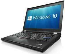 "Lenovo Laptop Thinkpad T420 i5 2.5Ghz 8GB 500GB 14"" Wifi Webcam Windows 10 Pro"