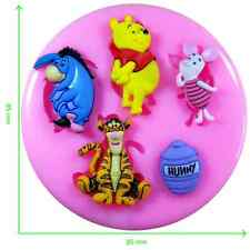 Disney Winnie the Pooh & Friends Silicone Mould by Fairie Blessings