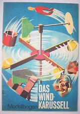 DDR  Ausschneidebogen Das Wind - Karussell 1971!