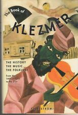 the book of klezmer by yale strom the history the music the folklore hb 1st edit