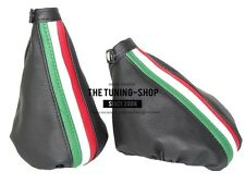 FOR ALFA ROMEO GT 2003-10 GEAR & HANDBRAKE GAITER LEATHER ITALIAN COLOURS ///