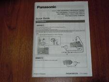 Manual User Guide for Panasonic KX-TGE263 TGE260 TGE262 TGE264 TG454SK TG465SK