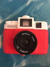 Jack White White Stripes Red Holga Format Film Camera