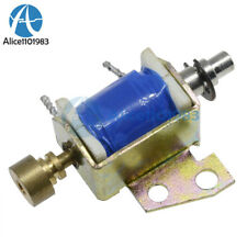 Hcne1 0416 Dc12v Solenoid Electromagnet Push Pull Type Open Frame 10mm 2n Reset