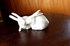Royal Copenhagen # 518 - Two Rabbits -
