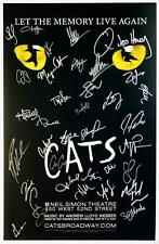 CATS Mamie Parris Broadway Revival Cast Signed Poster