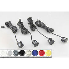 22mm Universal Replacement Backup Reverse Car Parking Sensor 4 Sensors 8 Colors