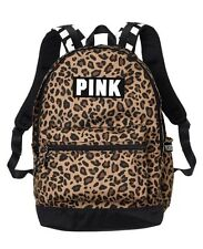 Victorias Secret PINK CAMPUS BACKPACK - Leopard Print - 2017 - NWT