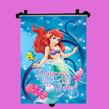 Disney Ariel Car Window Roller Blind Sun Shade Children Kids Baby Boy Girl 1pc